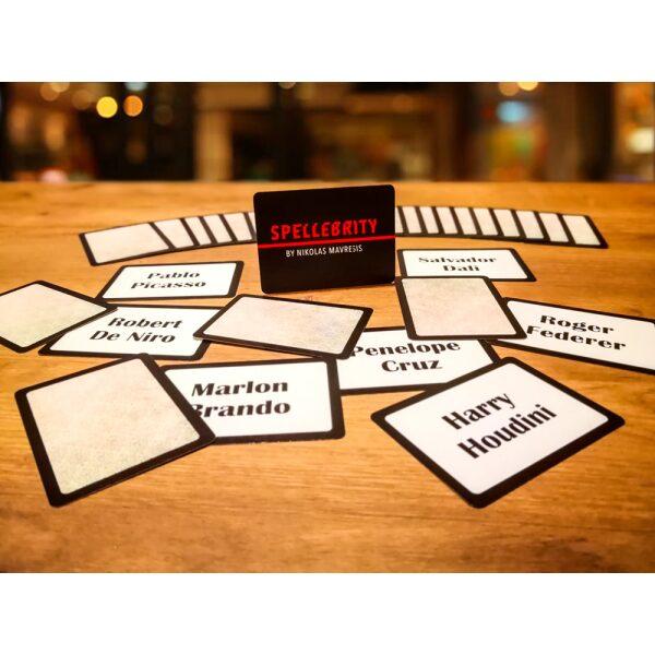 Mavresis - Innovative Mentalism - PRODUCT 7 SPELLEBRITY EXPANSION PACK 26 CARDS