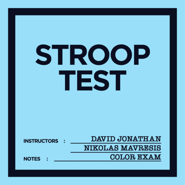 Mavresis - Innovative Mentalism - Stroop Test